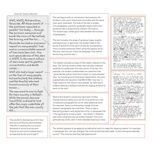 Essay writing website year 7 english