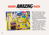Making Amazing Places cover.