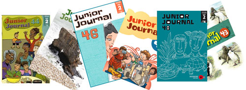 Junior Journal covers.