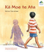 Shadow Sleeps | Kā Moe te Ata book cover.