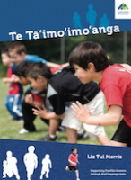 The Race | Te Tā'imo'imo'anga book cover.