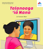 Talking to Nana book cover Gagana Sāmoa.