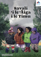 Walking Home in the Rain | Savali 'i le 'Āiga i le Timu boo cover.