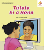 Talking to Nena book cover Vagahau Niue.