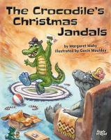 The crocodiles Christmas jandals.